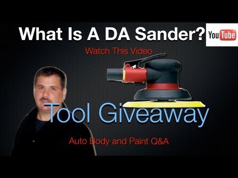 What Is A Da Sander And What Is Flash Time Tool Giveaway