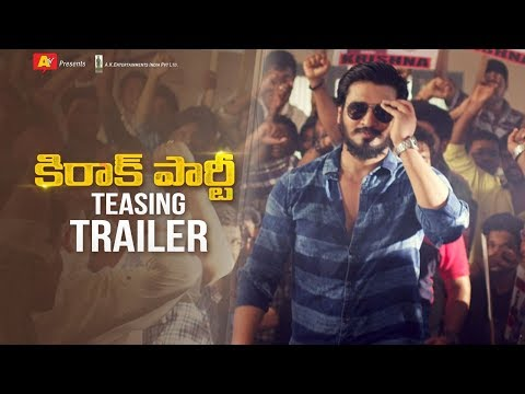 Kirrak Party Teasing Trailer | Nikhil Siddharth | Samyuktha | Simran Pareenja | AK Entertainments
