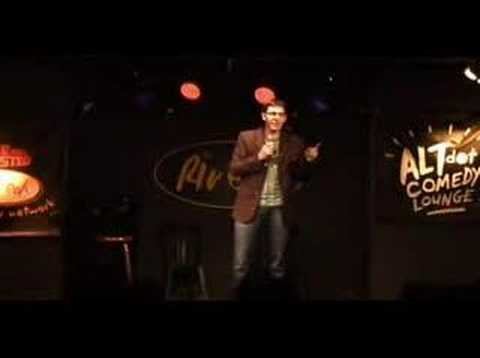 Geoff Hendry at The ALT dot Comedy Lounge