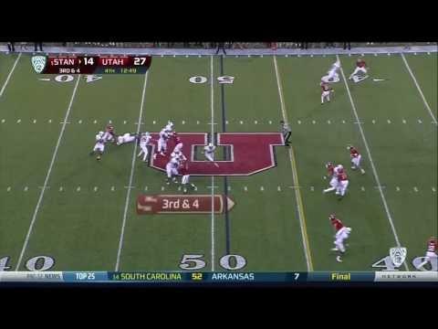 Nate Orchard sacks vs Stanford 2013 video.