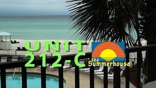 Unit 212-C Summerhouse Panama City Beach Vacation Condo