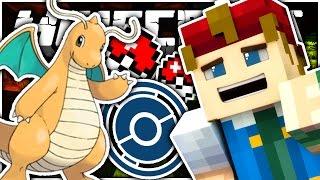 Minecraft | POKESTOP CHALLENGE + DRAGONITE?! - Pokemon Craft