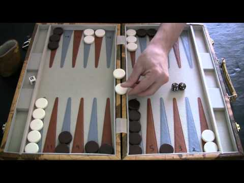 rolling doubles in backgammon