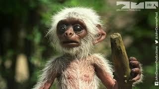 Robotic Spy Monkey Gets An Astonishing Reaction