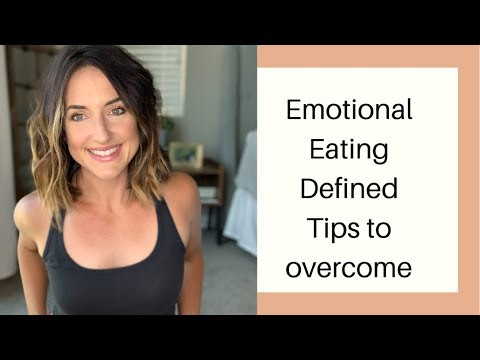 EMOTIONAL EATING||WHAT IS IT?||TIPS TO STOP
