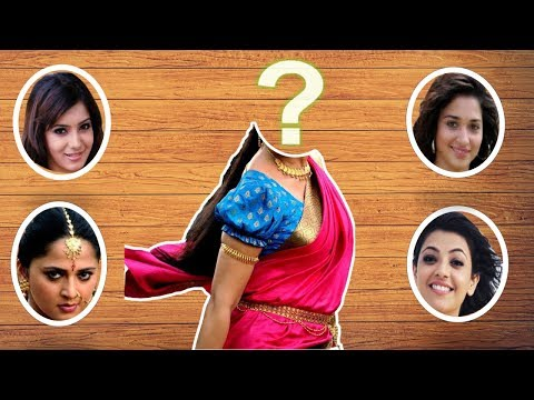 Wrong Heads Top South Movie Actresses Fun Video | Guess & Comment Score