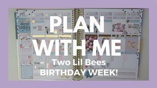 Plan with me in my Erin Condren vertical planner using the BIRTHDAY KIT from Two Lil Bees!!! This kit will be released TODAY, JULY 21ST if you are trying to get your hands on it!!//FIND ME//Planner instagram: https://www.instagram.com/hollyplans///COUPONS & LINKS//MY PLANNER - Erin Condren planner: http://goo.gl/UFtdAk (My referral link - you get $10 credit; I get $10 credit)MY OTHER PLANNER - Foxy Fix: http://rwrd.io/kkeas69 (referral link -- use for 10% off your first order!)EBATES - 1% back on all Etsy purchases! http://www.ebates.com/rf.do?referrerid=x8FImaJ3AWTFaVpe2HTFEA%3D%3D&eeid=28187 (My referral link--earn $10 cash back with your first purchase!)PEN GEMS - http://r.sloyalty.com/r/vqiNeMozKq5c  (referral link -- use for 10% off your first order!)PLANNER BELLE PRESS: Hollyplans25GP STICKER STUDIO: Hollyplans20//SHOPS MENTIONED//Two Lil Bees: http://i.refs.cc/vMJvYFvG (referral link -- use for 10% off your first order!)Clever Gal Crafts: https://www.etsy.com/shop/CleverGalCraftsPlanning World: https://www.etsy.com/shop/planningworld Rose Colored Daze: https://www.etsy.com/shop/RoseColoredDaze My Newest Addiction: https://www.etsy.com/shop/MyNewestAddiction Fox & Pip: https://www.etsy.com/shop/TheFoxandPipSimply Watercolor Co: https://simplywatercolorco.myshopify.com/