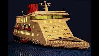 Video Lego Cruise Ship Disaster 2 MP3, 3GP, MP4, WEBM, AVI, FLV September 2018