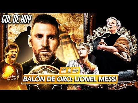 MESSI, BALÓN DE ORO | Resumen fútbol europeo | #GOLDEHOY