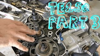 9. 2007 Husqvarna TE250 Fix-Up Project - Part 3 - Engine Work & Rear Suspension