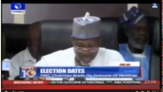 Nigerian Elections Postponed To 28 March&11 April 2015