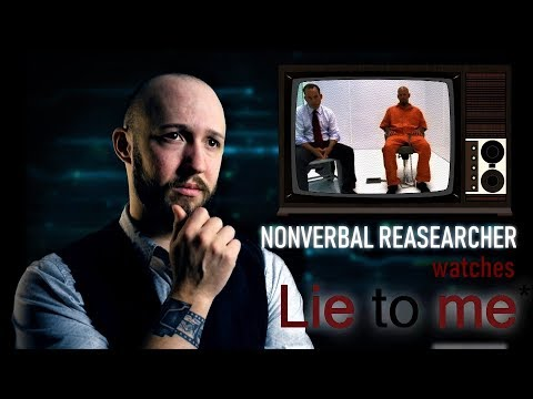 Nonverbal Researcher Reacts to LIE TO ME | Crime Drama Review