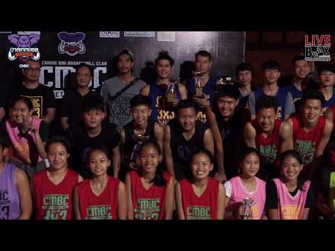 Chiang Mai Basketball Club l STREET BASKETBALL 3x3 2017 (30 เม.ย 2560) (PART4)