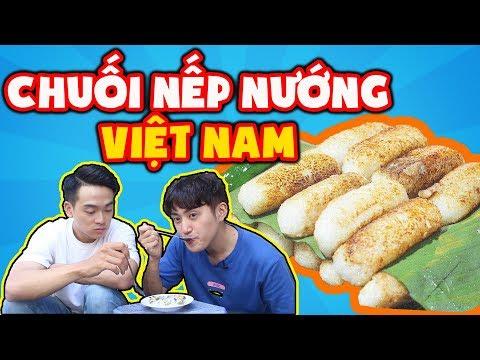 Chuối Nếp Nướng ngon quá!!! Trai Hàn đã say mê chuối nếp nướng Việt Nam ??? - Thời lượng: 6 phút, 48 giây.
