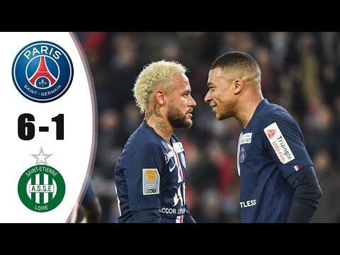 PSG vs Saint Etienne 6 1   All Goals & Extended Highlights 2020