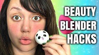 BEAUTY BLENDER HACKS - SQUISHY TOY! by Kat Sketch