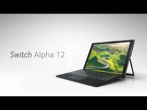 Laptop 2 w 1 ACER Switch Alpha 12 SA5-271-71EJ