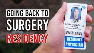 I'm GOING BACK TO RESIDENCY (Plastic Surgery vs Other Options)