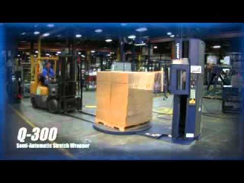 Semi Automatic Stretch Machine - Lantech Q300