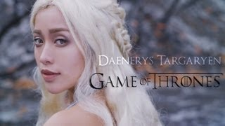 This Game of Thrones Daenerys Targaryen tutorial is for the khaleesi in all of us! more photos on my site http://bit.ly/12vfWh7 ...
