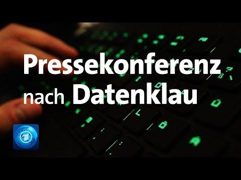 LIVE: Pressekonferenz des BKA - Tatverdächtiger Hacker festgenommen