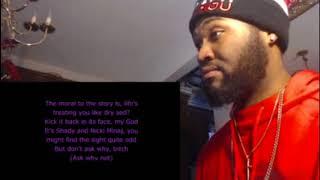 Romans Revenge Lyrics - Nicki Minaj ft Eminem - REACTION/REVIEW