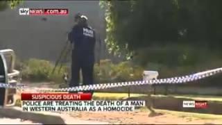 Northam Australia  city pictures gallery : Police Investigate Man's Murder - Northam, Western Australia (2014)