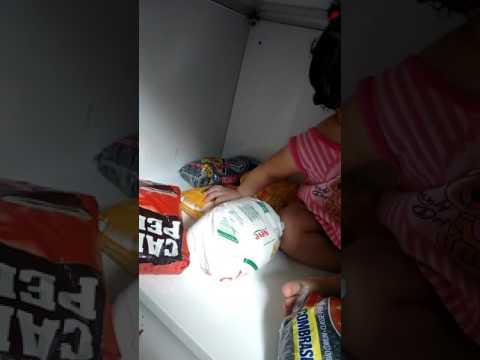 Uma assaltante de armário em pedraGuaratiba Piraquê