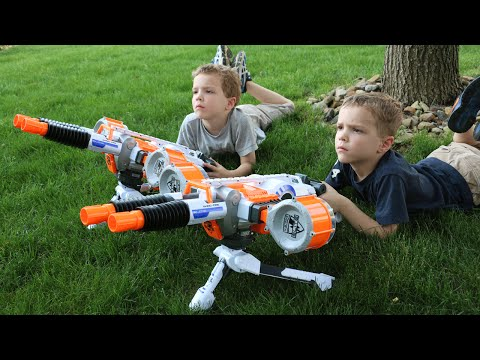Nerf War:  The Outsiders