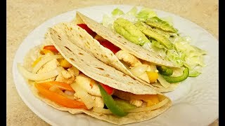 Here is a great and light way to serve a simple and delicious chicken taco. I like to serve these tasty chicken tacos with a side salad for a healthier and lighter Taco Tuesday meal. I also include an easy Lime vinaigrette recipe that compliments this meal wonderfully.INGREDIENTS1 1/2 pounds boneless skinless chicken breast1 tsp garlic powder1/2 tsp paprika1 tsp onion powder1/2 tsp saltpepper to tasteJuice of a lime2 to 3 cups sliced bell peppers (optional)medium to large onion sliced (optional)LIME DRESSINGJuice of a lime (3 to 4 tbls)1 tsp honeysalt and pepper to taste1 tsp of Dijon mustard2 tbls Avocado oil (or oil of your choice)How to make Chicken TacosHealthy Taco RecipeChicken and PeppersTaco Tuesday RecipeEasy Dinner RecipesLime Dressing RecipeEasy Lime Vinaigrette Soft Chicken TacosHealthy RecipesSummer Dressing RecipeChicken Recipe