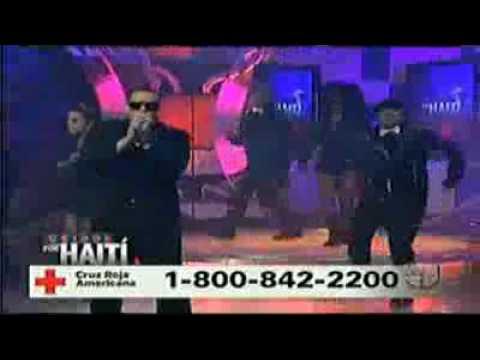 Unidos Por Haiti  Daddy Yankee Grito Mundial