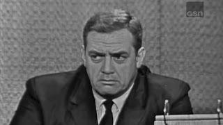 Video What's My Line? - Raymond Burr; Buddy Hackett [panel] (Jun 3, 1962) MP3, 3GP, MP4, WEBM, AVI, FLV Januari 2019