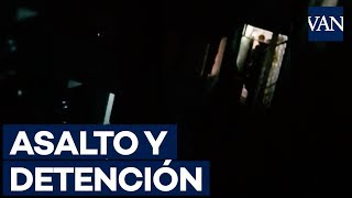Momento del asalto a la casa de jefe de equipo de Juan Guaidó