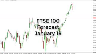 FTSE 100 - FTSE 100 Technical Analysis for January 18 2017 by FXEmpire.com