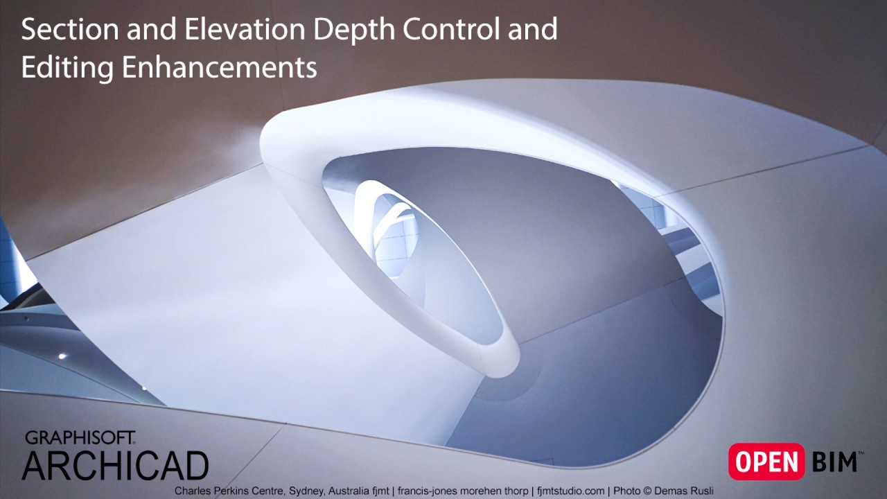 Improved Section and Elevation Depth Control
