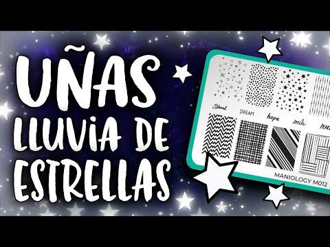 Uñas decoradas - ¡CON MUCHO BRILLO! ·  UÑAS LLUVIA DE ESTRELLAS