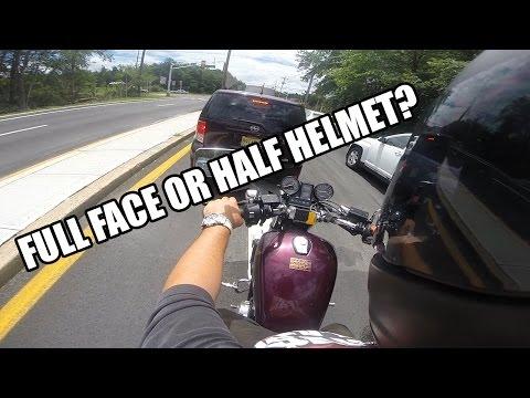 Half Helmet vs Full Face Helmet - NJBIKELIFE