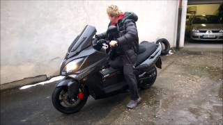 9. Kymco Xciting   Pájův ,,mazlík,,   scootergang