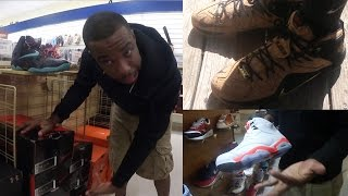 WTF! MARSHALL'S STORE SELLING HEAT SNEAKERS!? LEBRON 12 EXT 'KING'S CORK! SneakerHead Ep.10