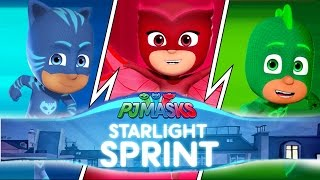 How well are you doing on PJ Masks Startlight Sprint. We challenge Ollie to play PJ Masks Startlight Sprint and score enough points to win toy prizes in this PJ Masks Episodes.We plays for these great prizes:- NEW Hatchimals Colleggtibles- NEW LEGO Disney Minifigures- NEW Nintendo Switch- NEW Roblox Toys