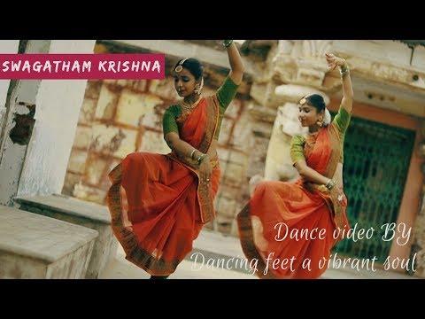 Video SWAGATHAM KRISHNA (AGNYAATHAVAASI) - Kuchipudi dance download in MP3, 3GP, MP4, WEBM, AVI, FLV January 2017