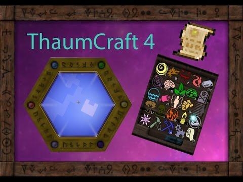 Как сделать магический верстак в thaumcraft 4