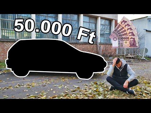Autót vettem 50.000 Ft-ért 💵 - Megőrültem?! 😟