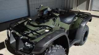 9. 2014 Rubicon 500 SALE / Honda of Chattanooga TN - TRX500FPA Power Steering ATV