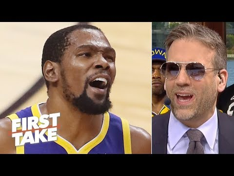 The Warriors tried to 'milk' KD before he leaves in free agency – Max Kellerman | First Take