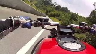 9. Ducati Diavel - top speed & high speed corner test @ Simpang Pulai HighWay & PosBetau HSC