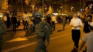 Bethlehem Palestinian  city images : Israeli troops and Palestinian protesters clash in Bethlehem