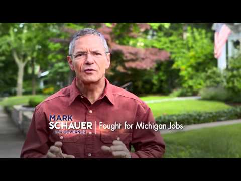 Mark Schauer's new ad.