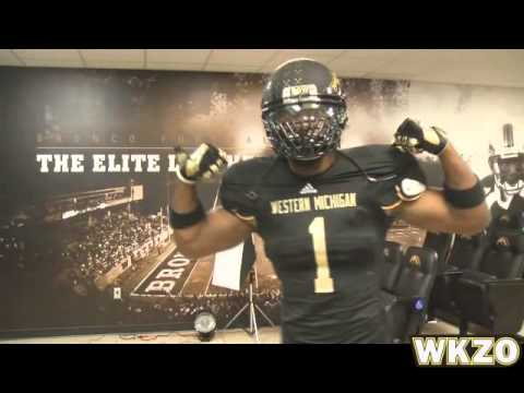 Up close look at WMU's new 2013 uniforms