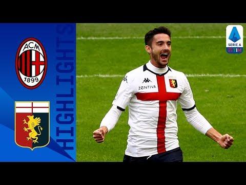 Milan 1-2 Genoa | Ibrahimović and Pandev Score As Visitors Take Victory | Serie A TIM